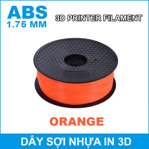 Day So Nhua In 3d ABS Orange