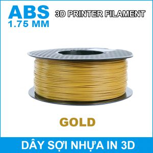 Day So Nhua In 3d ABS Gold