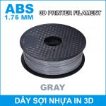 Day So Nhua In 3d ABS Gray