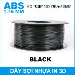 Day So Nhua In 3d ABS Mau Den