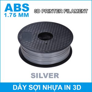 Day So Nhua In 3d ABS Silver