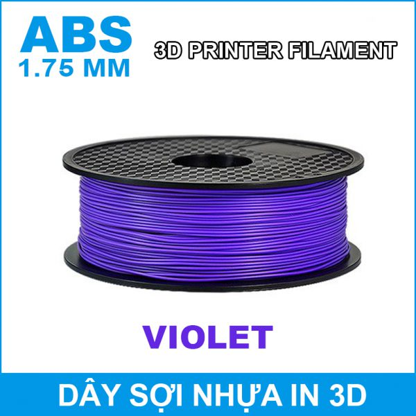 Day So Nhua In 3d ABS Violet