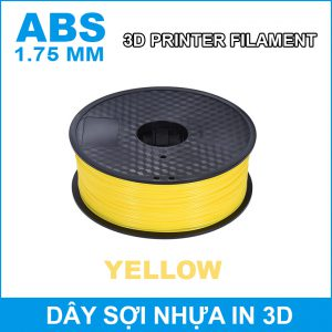 Day So Nhua In 3d ABS Yellow