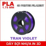 Day So Nhua In 3d PLA Tran Violet