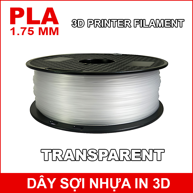 Day So Nhua In 3d PLA Transparent
