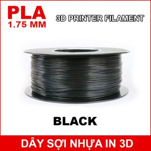 Day So Nhua In 3d PLA Black