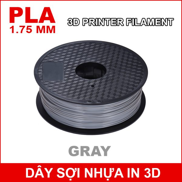 Day So Nhua In 3d PLA Gray
