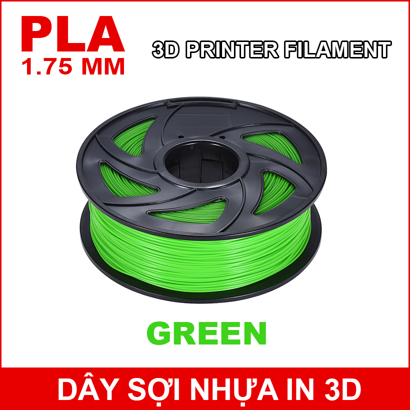 Day So Nhua In 3d PLA Green