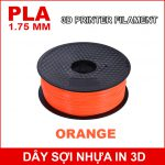 Day So Nhua In 3d PLA Orange