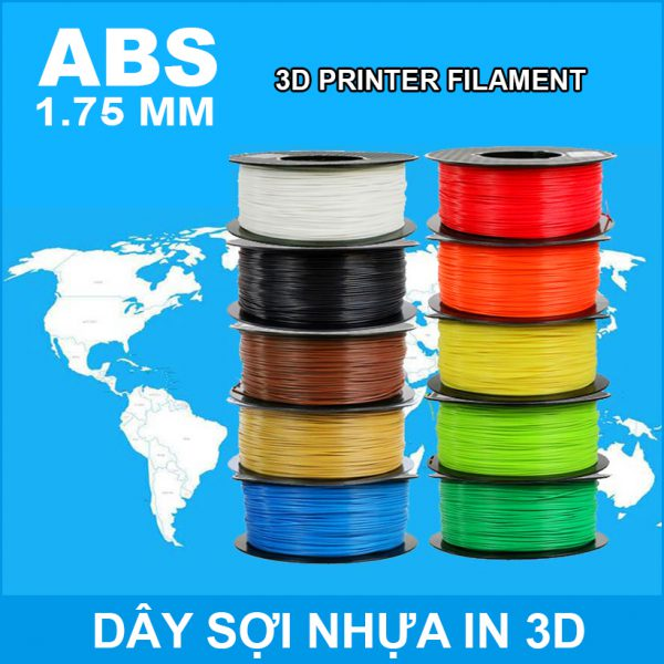 Nhua In 3D ABS Gia Re