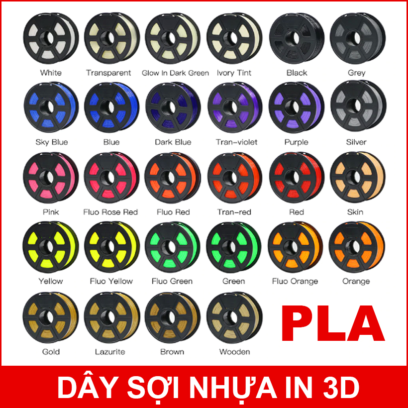 Nhua In 3D PLA