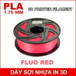 Day So Nhua In 3d PLA Fluo Red