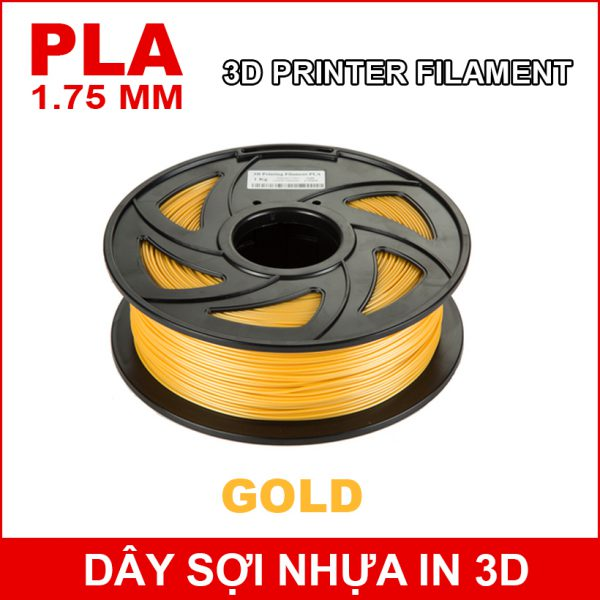 Day So Nhua In 3d PLA GOLD