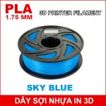 Day So Nhua In 3d PLA Sky Blue