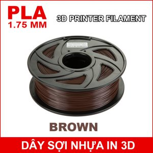 Day So Nhua In 3d PLA Brown