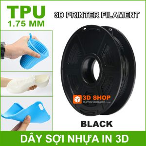 Nhua In 3D TPU Black