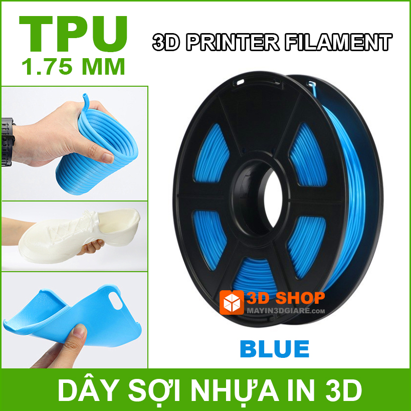 Nhua In 3D TPU Blue