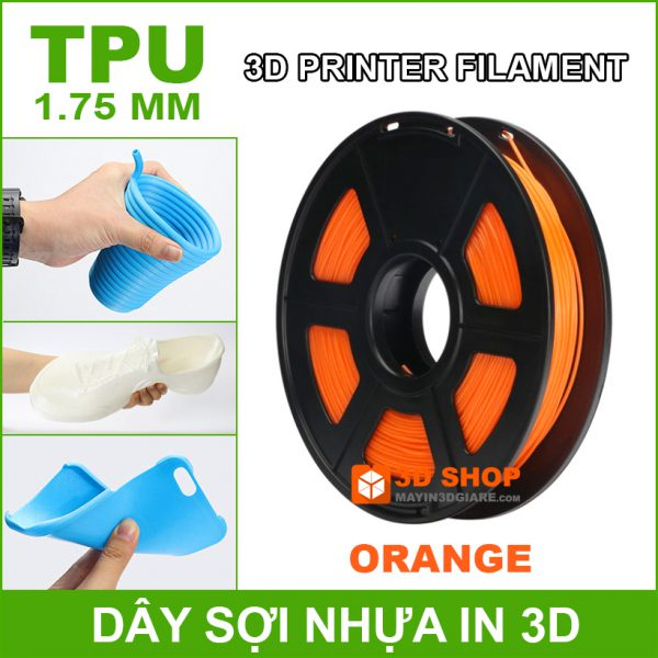 Nhua In 3D TPU Orange