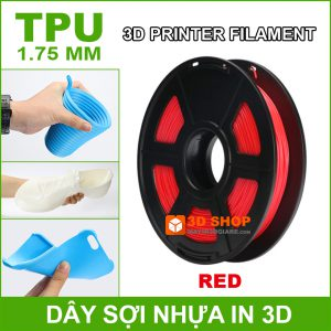 Nhua In 3D TPU Red
