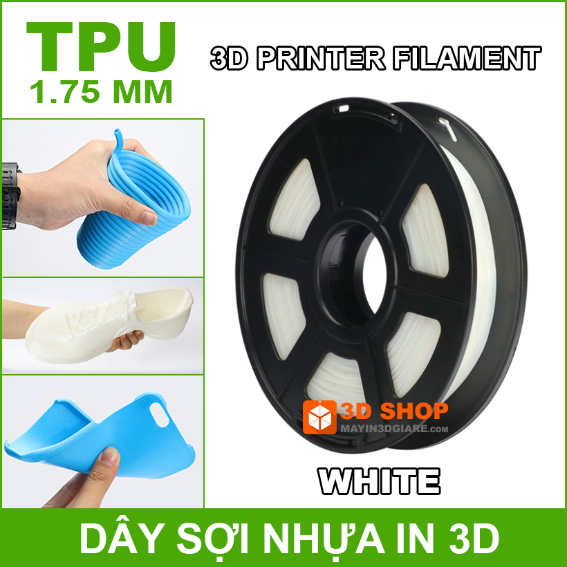 Nhua In 3D TPU White