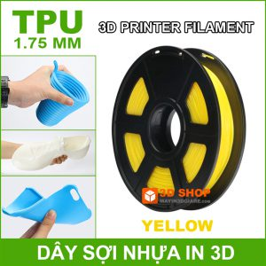 Nhua In 3D TPU Yellow